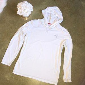 💕5/$25 Men's Long Sleeve Hooded Tee Shirt
